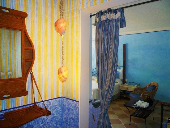 Melia Cayo Santa Maria : la stanza ha un suo ingresso è un piccolo appartamento
