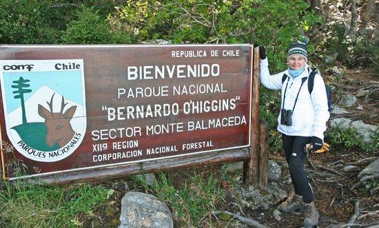 Agunsa Patagonia: Trailhead