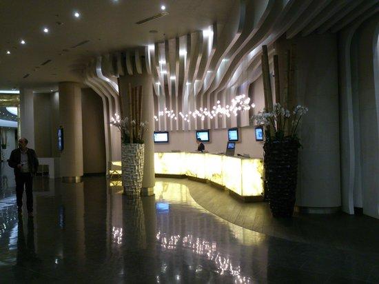 Novotel Moscow City: Reception