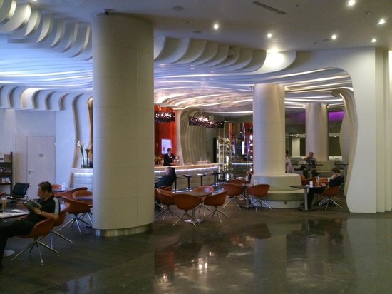 Novotel Moscow City: Bar area