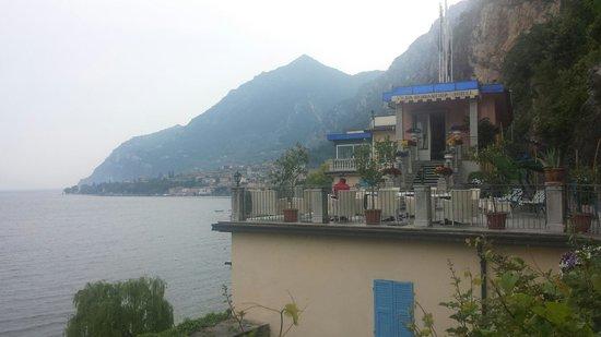 Vista Dell'Hotel Villa Romantica.