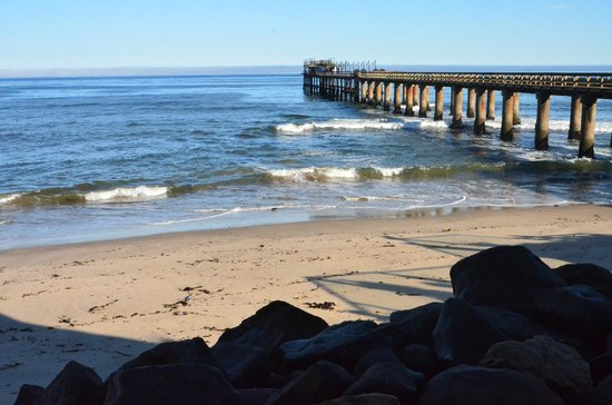 The Tug: The beach and the pier