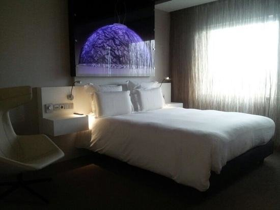Pullman Eindhoven Cocagne : Our comfortable room