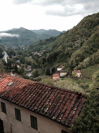 Hotel & Terme Bagni di Lucca: la vista dalla camera