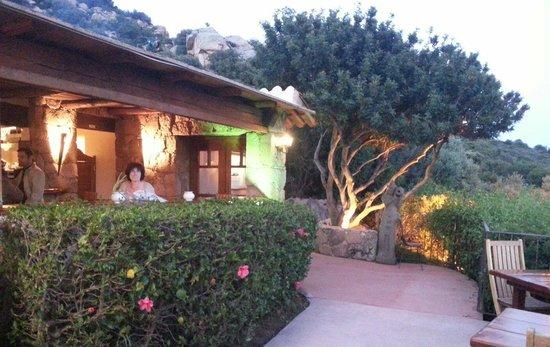 Costa Marina : Le bar ouvert sur la terrasse
