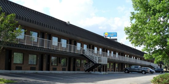 Days Inn St George : Rooms on side away from Interstate 95