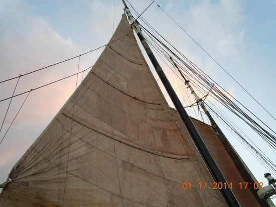Passaat Classic Schooner: Massive sails