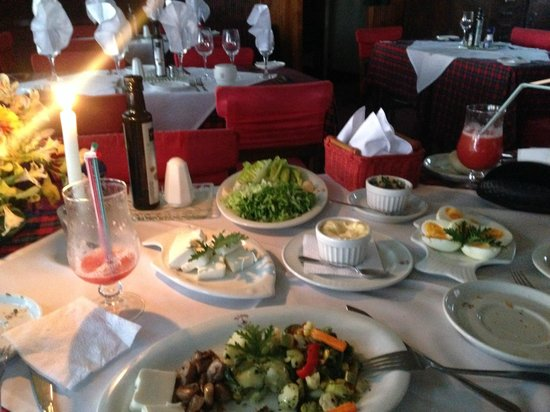 Hosteria La Candela: dinner