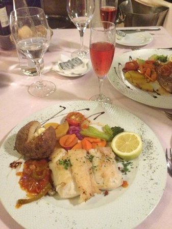 Coral California: food at 'Garibaldi's'