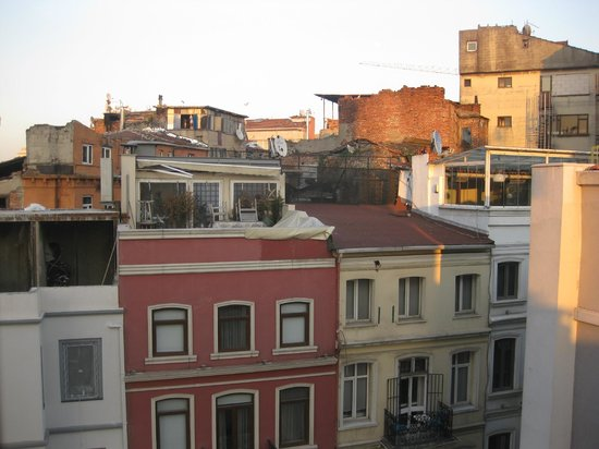 Seref Hotel : View from my room