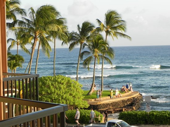 Lawai Beach Resort : View From The Lanai