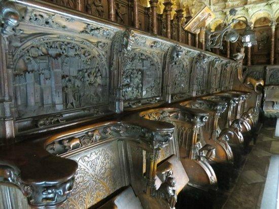 Catedral Primada: Sillería del Coro obra de Rodrigo Alemán, Felipe Vigarny y Alonso de Berruguete