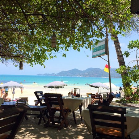 Chaweng Garden Beach Resort: Vue du restaurant
