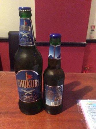 The Everest Nepalese & Indian Restaurant: Nepali beer