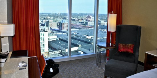JW Marriott Indianapolis: View, King Room, 33rd Floor, JW Marriott, Indianapolis, IN