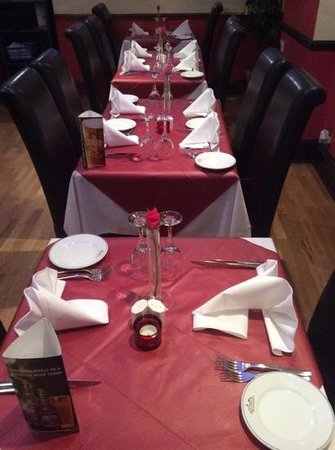 The Everest Nepalese & Indian Restaurant: inside view