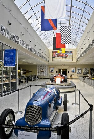 Indianapolis Motor Speedway Museum: Hall of Fame Museum, Indianapolis Motor Speedway