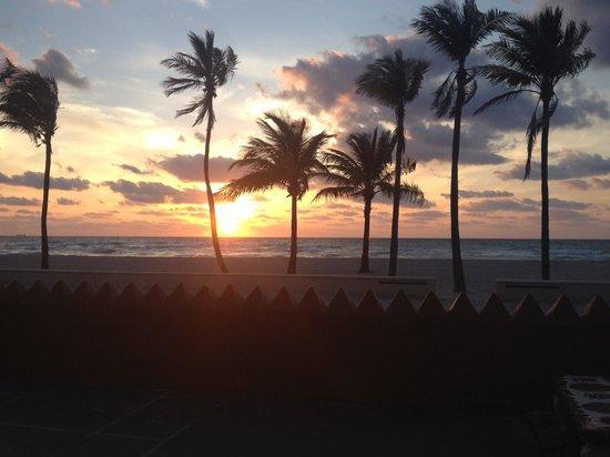 Neptune Hollywood Beach Hotel : Sunrise