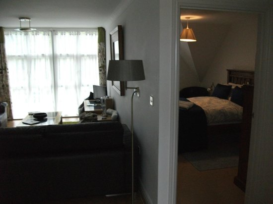 Kernow Homes - Travel accommodation: Living room and bedroom 2