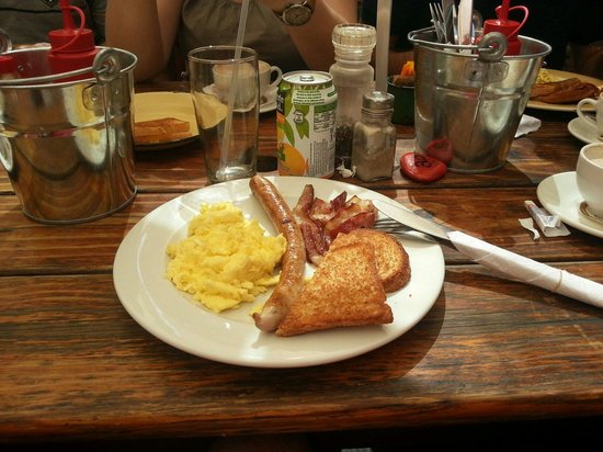 Village Café : An excelente breakfast!