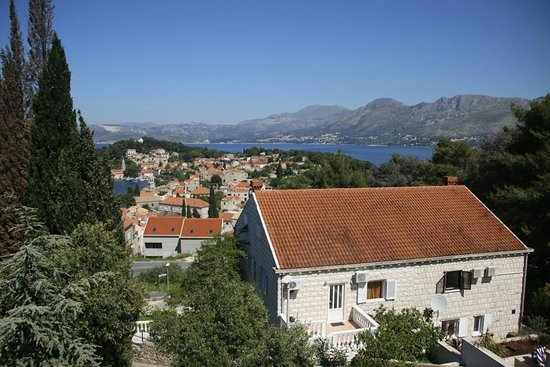 Villa Radovic: View from our balcony