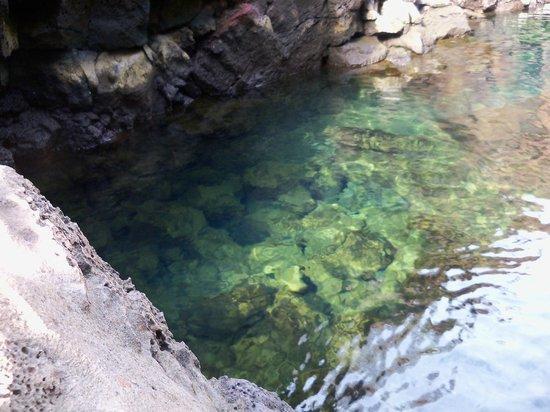 Las Grietas: Água transparente!