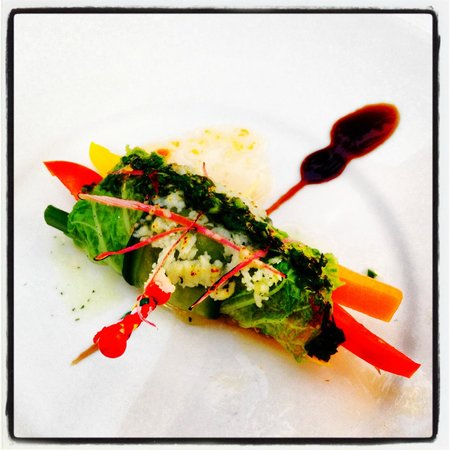The Danna Langkawi: Vegetarian starter (on demand)