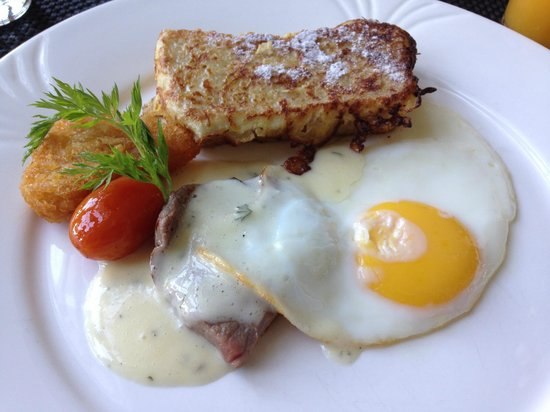 The Danna Langkawi, Malaysia: Chef Mohamed's special gluten free breakfast (for me only :))