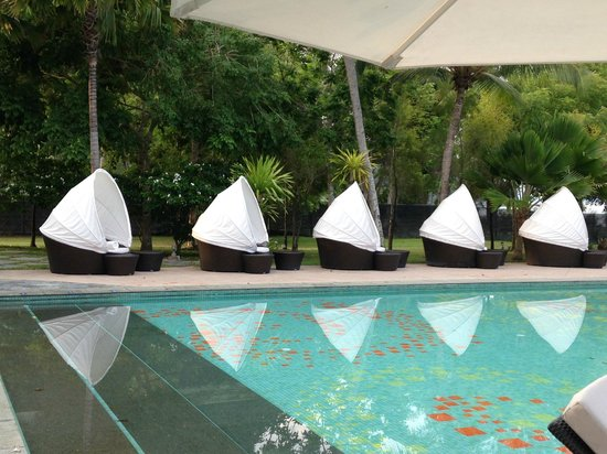 The Danna Langkawi, Malaysia: little pods by the side of the pool