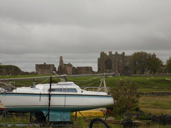 Lindisfarne Priory : priory