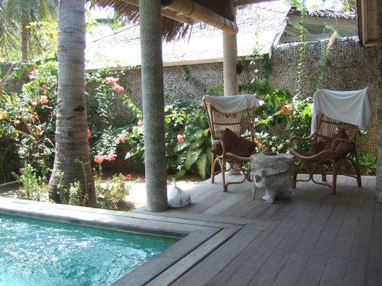 Les Villas Ottalia : Terrasse