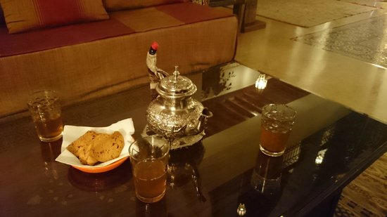 Riad Viva : Welcome Mint Tea