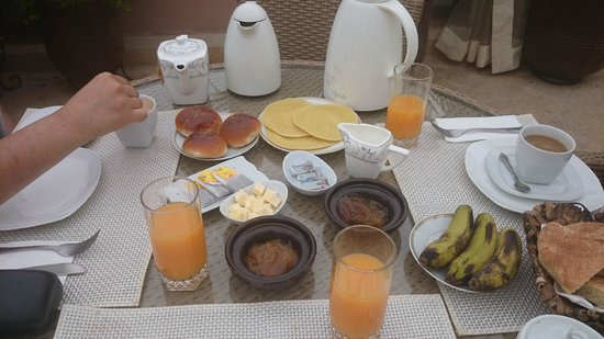 Riad Viva: Breakfast