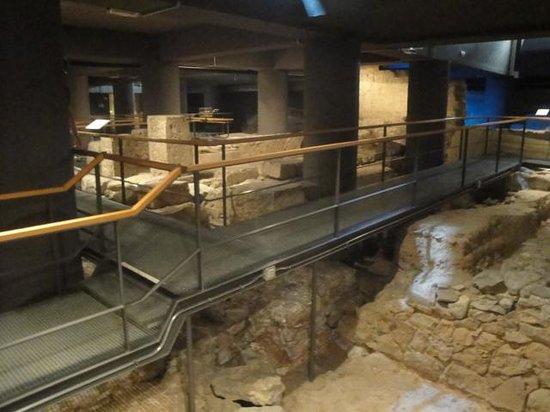 Museu d'Historia de Barcelona - MUHBA : ruinas encontradas