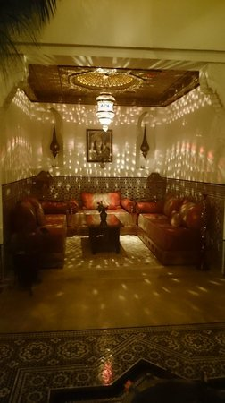 Riad Viva: Beautiful lighting