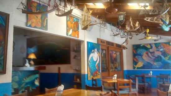 La Sirena Gorda : Vista interior