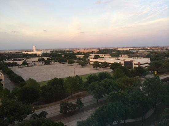 Dallas/Fort Worth Airport Marriott : Beautiful view from our 10th floor window
