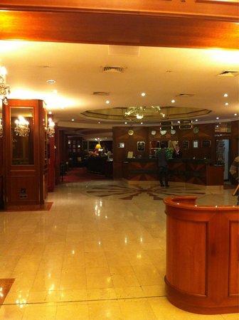 Art Nouveau Palace Hotel : Front hall