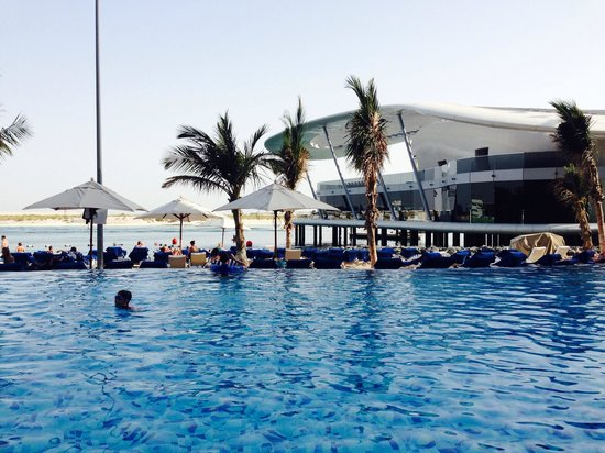 Jumeirah at Etihad Towers: Pool and view of Scotts