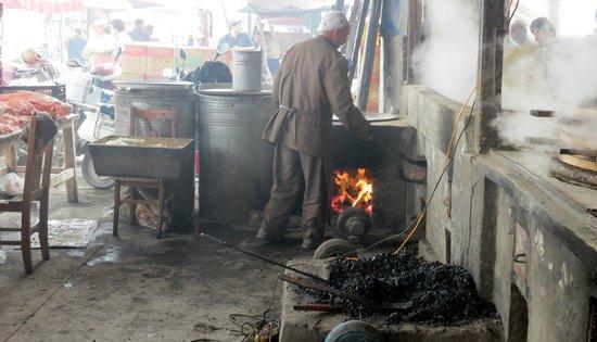 Kashgar Offbeat Tours Silk Road Adventure: Coal-fired oven