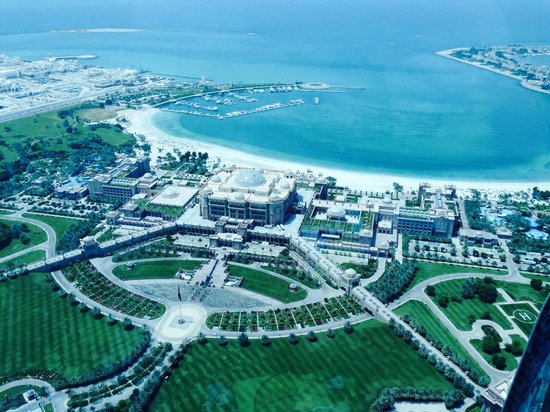 Jumeirah at Etihad Towers: View from observation deck