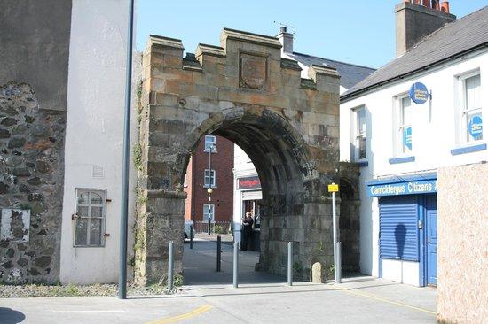 Carrickfergus Town Walls
