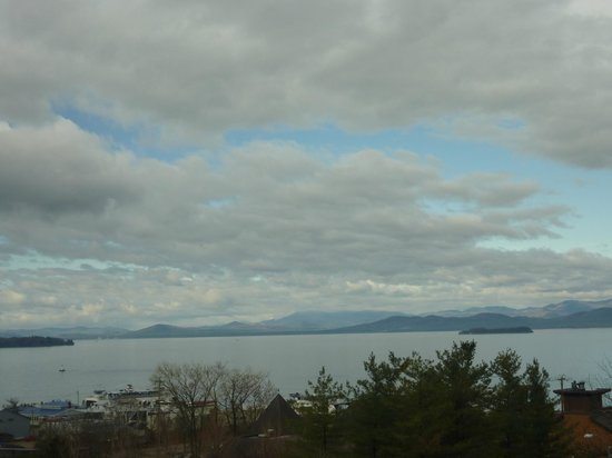 Hilton Burlington: Incredible Vistas from Our Room!