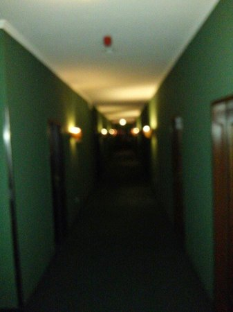 TRYP by Wyndham Kassel City Centre : Pasillos de terror