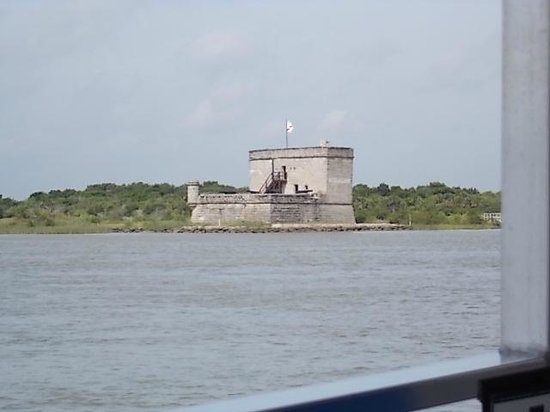 Fort Matanzas National Monument: Seen from the shuttle motor boat