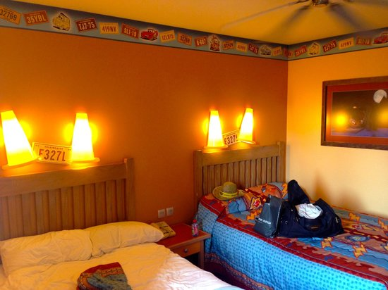 Disney's Hotel Santa Fe: And the over all Cars theme