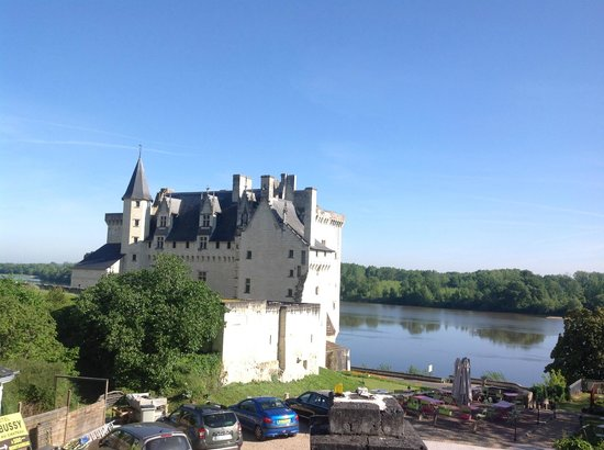 Hotel Le Bussy : Château de Montsoreau en bord de Loire