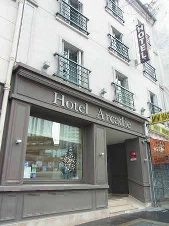 Arcadie Montparnasse: ホテル外観