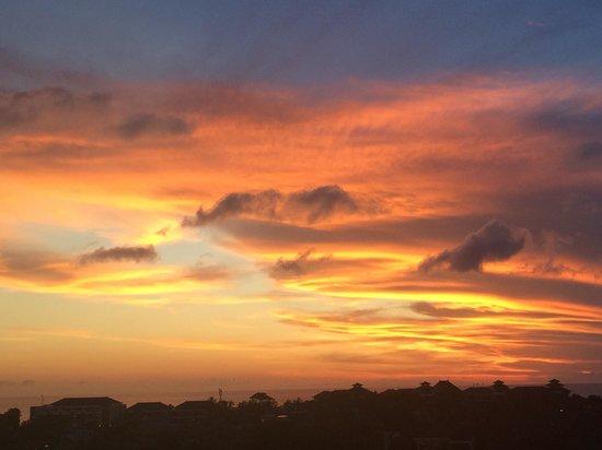 U Paasha Seminyak: Sunset from the roof