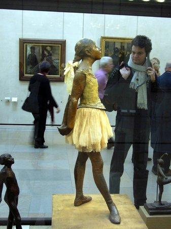 Musée d'Orsay: Всех из кадра выгнать не удалось